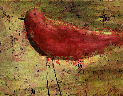 Painting - The Bird - 24a by Variance Collections