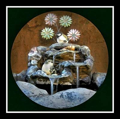 Photograph - The Bird Bath by Dale Paul
