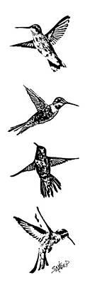 The Bird Flew Original by Amanda  Sanford