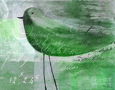 Painting - The Bird - Gr-j099225225-02 by Variance Collections