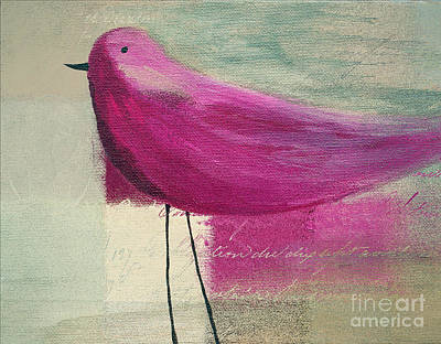 Painting - The Bird - J100124164-c15a by Variance Collections
