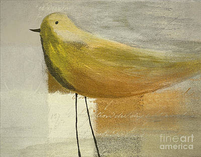Painting - The Bird - J100124164-c23a by Variance Collections