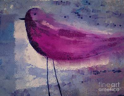 Painting - The Bird - K09144 by Variance Collections