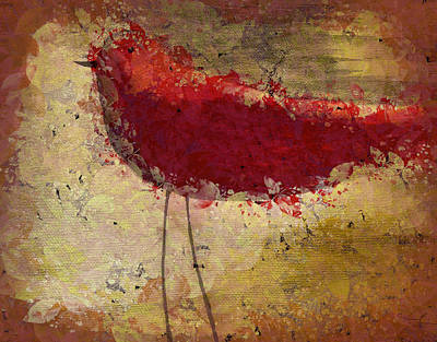 Painting - The Bird - S65b by Variance Collections