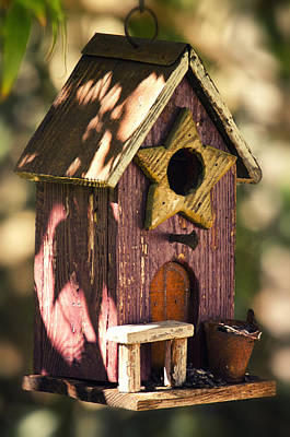 Photograph - The Birdhouse  by Saija  Lehtonen
