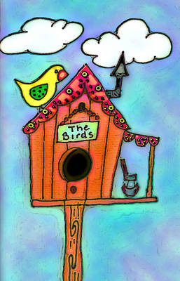 The Birds Art Print by Melissa Osborne