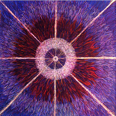 Painting - The Birth Of A New Star by Lola Lonli