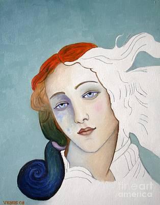 Painting - The Birth Of Venus by Venus