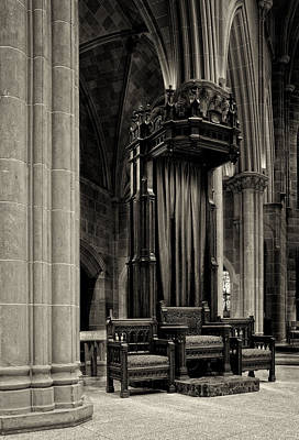 The Bishops Chair Art Print by Dick Wood