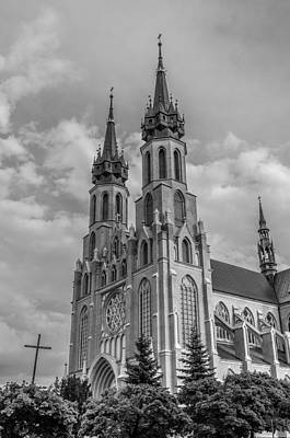 Photograph - The Black Church by Tgchan