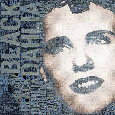 The Black Dahlia Elizabeth Short Original by Tony Rubino