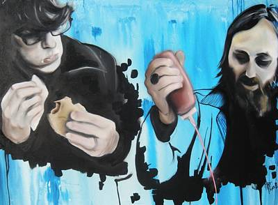 Painting - The Black Keys by Matt Burke