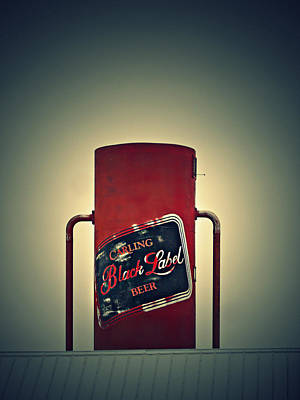 Carlings Beer Photograph - The Black Label by Cyryn Fyrcyd