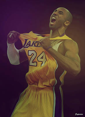 The Black Mamba Art Print by Superior Designs