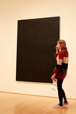 The Black Piece Of Art Original