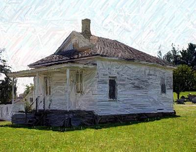 The Black Schoolhouse - Perryville Ky Art Print by Thia Stover