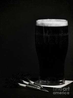Frosty Mug Photograph - The Black Stuff by Paul Holman