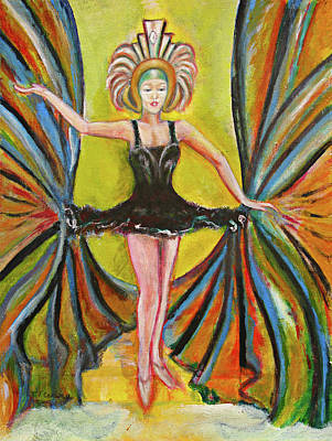 Painting - The Black Tutu by Tom Conway