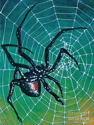 The Black Widow Original by Jeff Cornish