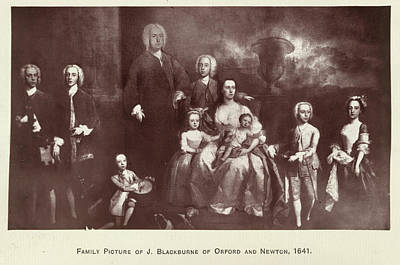 The Blackburne Family Art Print by British Library