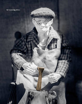 Photograph - The Blacksmith Grandpa by Stwayne Keubrick