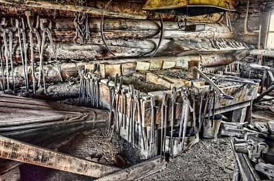 Photograph - The Blacksmith Shop by Ken Smith