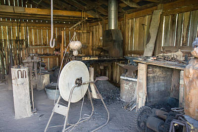 Photograph - The Blacksmith Shop by Mary Almond
