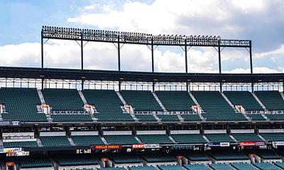 Baseball Photograph - The Bleachers At Camden Yards by Bill Cannon