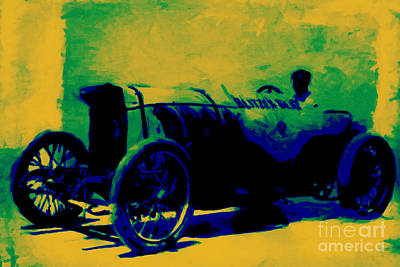 Photograph - The Blitzen Benz Racer - 20130208 by Wingsdomain Art and Photography