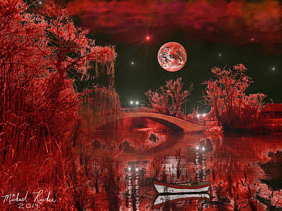 The Blood Moon Original by Michael Rucker