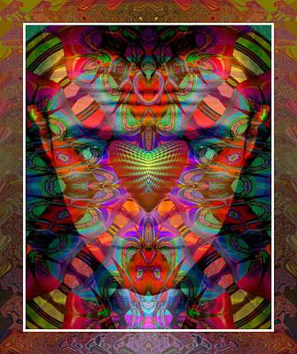 Reconstruction Digital Art - The Blood Sucker by Rick Wolfryd