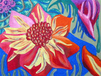 Painting - The Blossom by Molly Williams