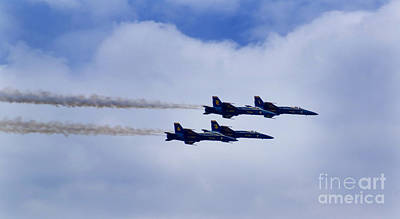 The Blue Angels Print by Benjamin Reed