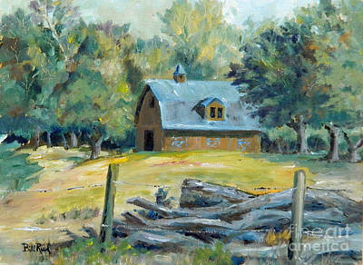 Painting - The Blue Barn by William Reed