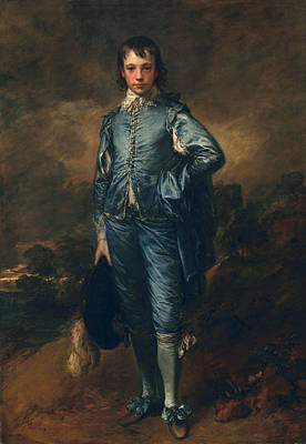 Adolescent Painting - The Blue Boy, C.1770 by Thomas Gainsborough