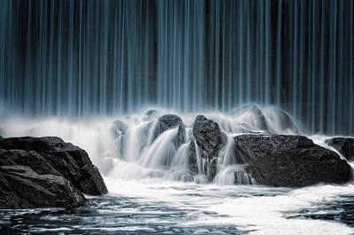 Helsinki Photograph - The Blue Curtain by Keijo Savolainen