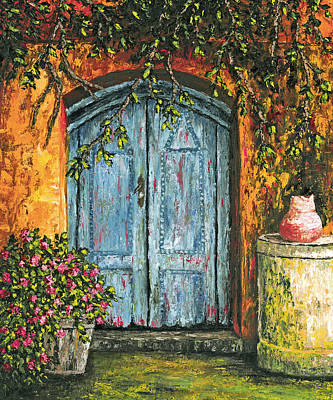 Painting - The Blue Door by Darice Machel McGuire