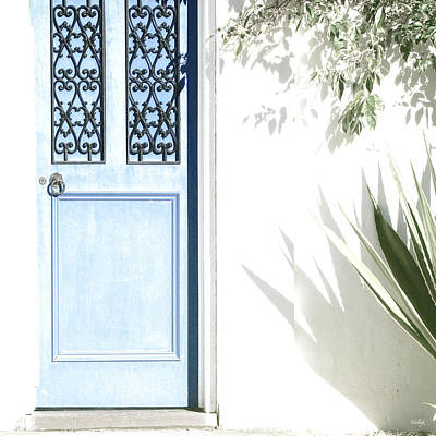 Photograph - The Blue Door by Holly Kempe