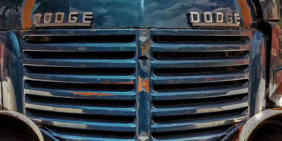 Photograph - The Blue Grille by Ken Smith