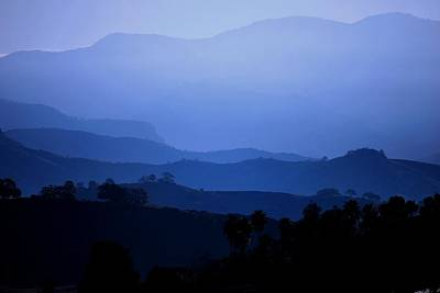 Photograph - The Blue Hills by Matt Harang