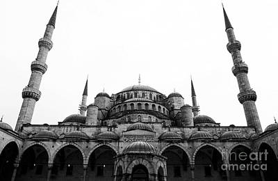 Photograph - The Blue Mosque by John Rizzuto