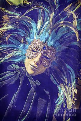 Voodoo Shop Wall Art - Photograph - The Blue Princess by Danilo Piccioni