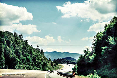 Photograph - The Blue Ridge Parkway by Debra Forand