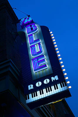 The Blue Room Jazz Club, 18th & Vine Art Print by Panoramic Images