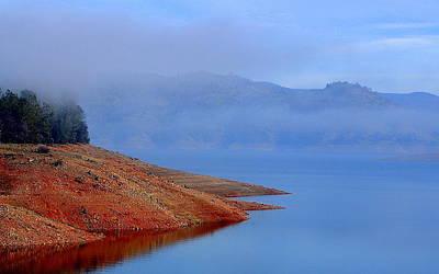 Photograph - The Blue Silk Mist by AJ  Schibig