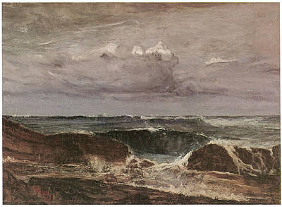 The Blue Wave Biarritz Art Print by James Abbott McNeill Whistler