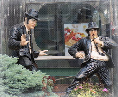 Photograph - The Blues Brothers by Kay Novy