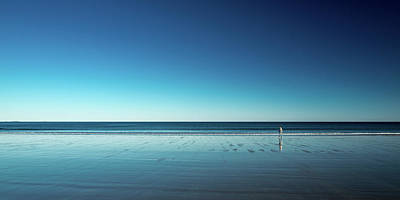 Hamptons Photograph - The Blues by Harmeet Marwaha