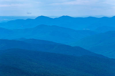 Mount Washington Photograph - The Blues by Kristopher Schoenleber