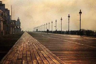 Ocean City Nj Photograph - The Boardwalk by Lori Deiter